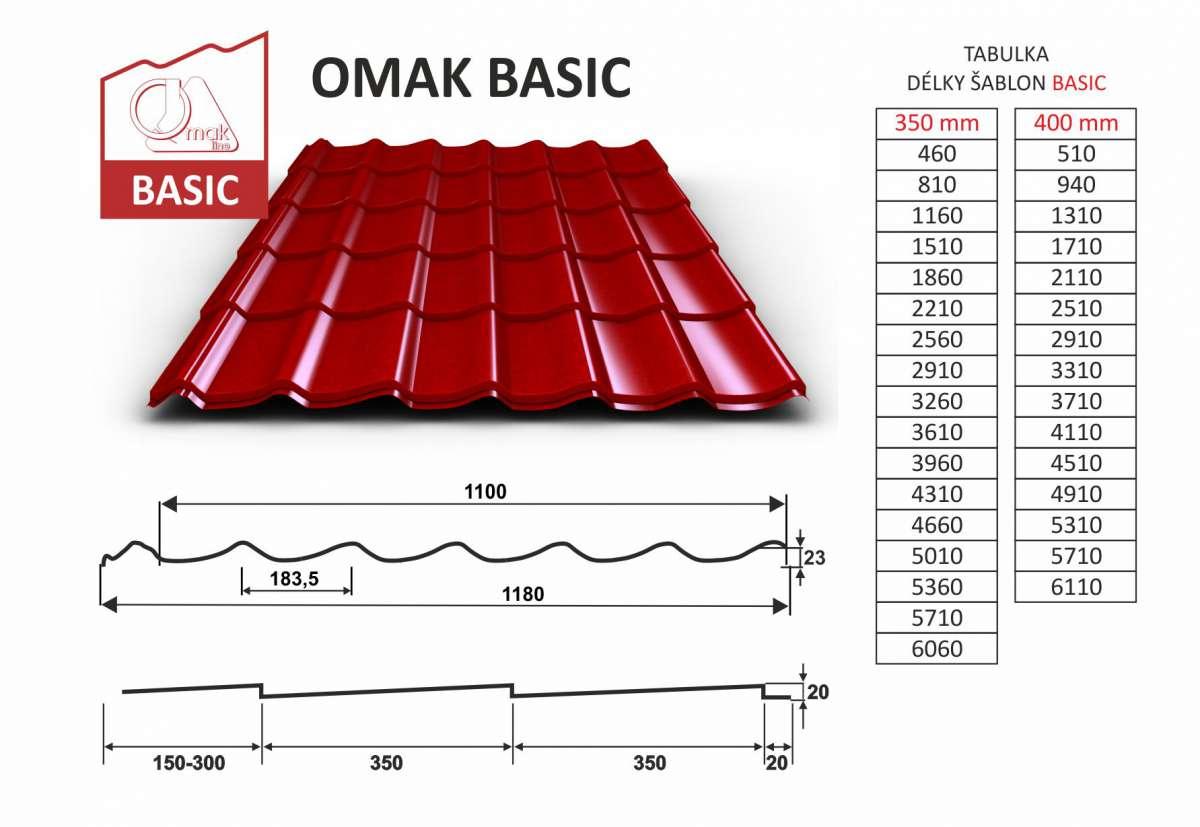 OMAK BASIC tašková tabule OMAK LINE